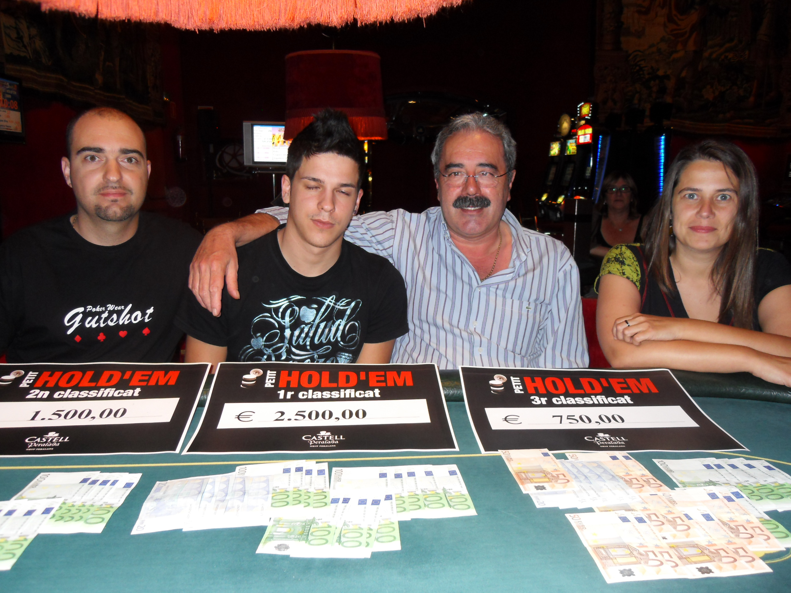 Leo Margets y May Maceiras fuera del WSOP Ladies Event