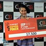 Javier Basarrate gana el Evento Principal del CEP de Bilbao