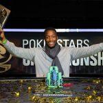 Kalidou Sow levanta el trofeo en el Main Event del PokerStars Championship de Praga